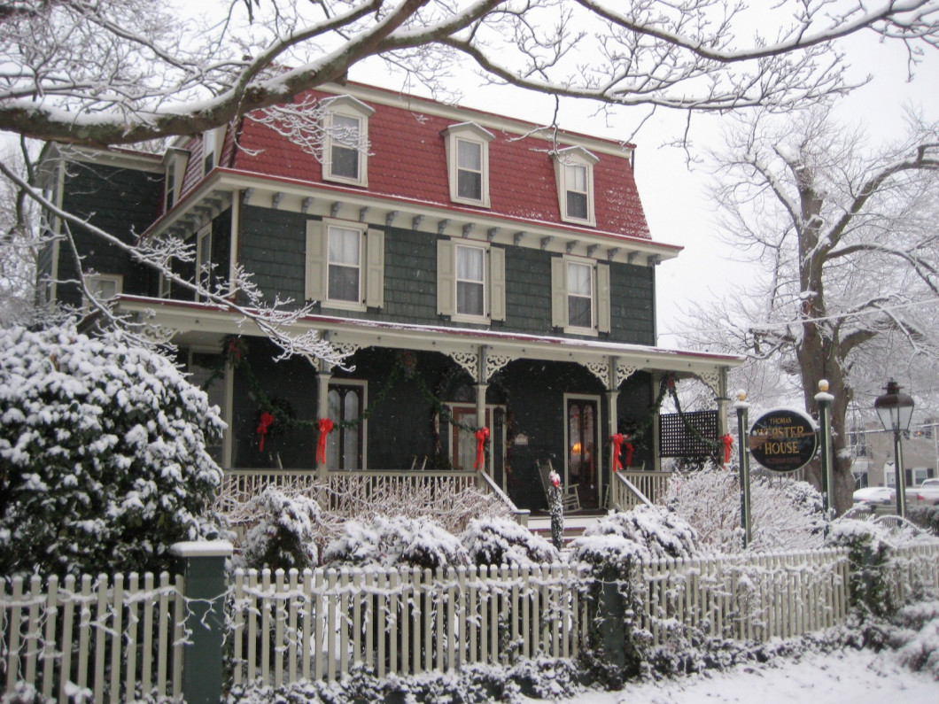 Seasons at The Thomas Webster House
